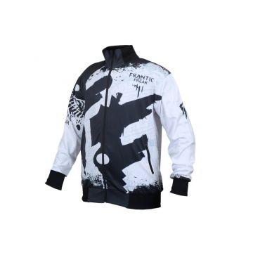 Frantic Freak Vest Full Print Special | zwart - wit