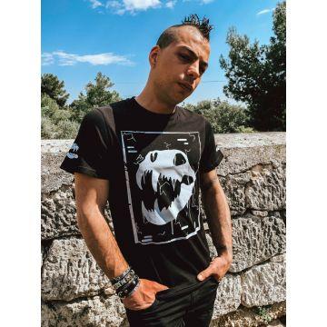Speedcore Italia T-shirt SCIM-06  zwart