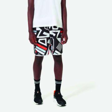 Australian Sportswear zwembroek abstracte print | wit