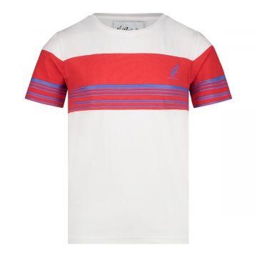 Australian kids duo T-shirt | wit - rood