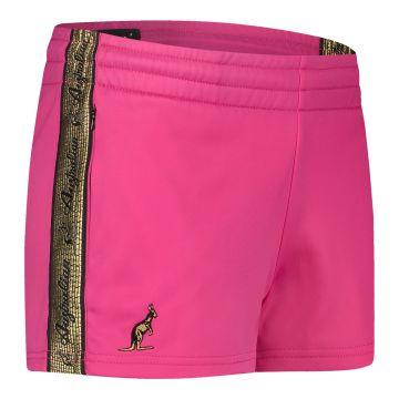 Australian dames hotpants met gouden bies 2.0 | roze
