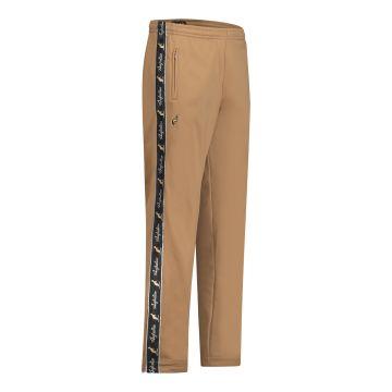 Australian broek met 2 ritsen en zwarte bies 2.0 | brons