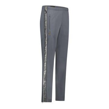 Australian broek met 2 ritsen en zilveren bies 2.0 | grijs