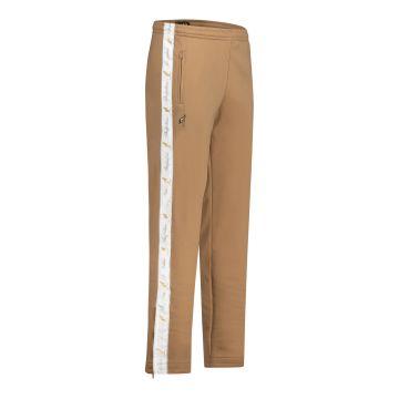 Australian broek met 2 ritsen en witte bies 2.0 | brons