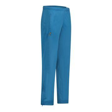 Australian broek uni met 2 ritsen   teal blue