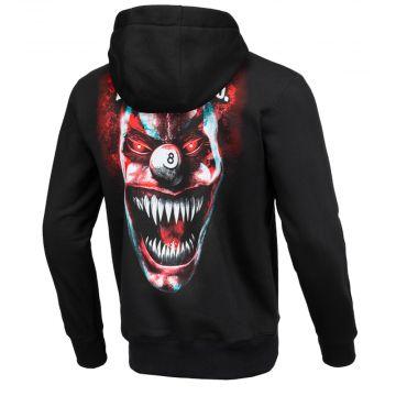 Pit Bull hooded sweater terror clown   zwart