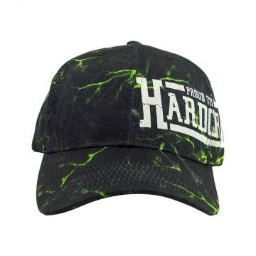 Proud to be hardcore pet lightning   zwart - groen