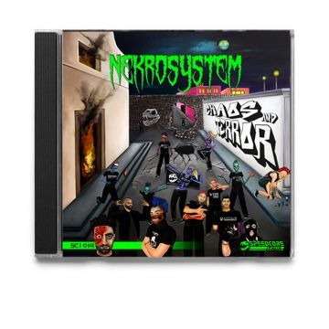 CD Nekrosystem - Chaos & Terror