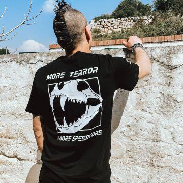 Speedcore Italia T-shirt SCIM-03   zwart