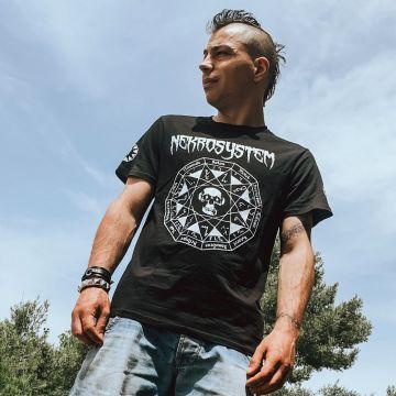 Speedcore Italia Nekrosystem T-shirt   zwart