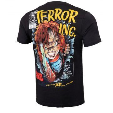 Pit Bull T-shirt scare | zwart