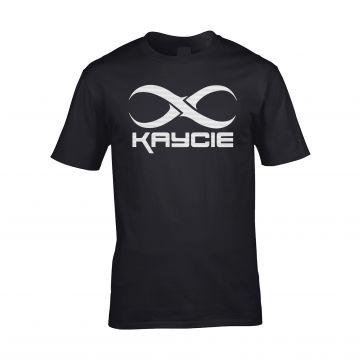 Kaycie T-shirt logo   zwart