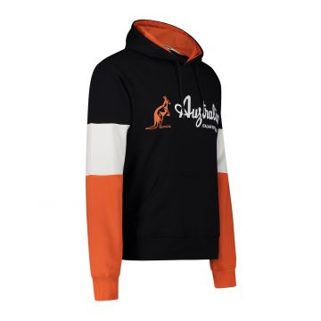 Australian Sportswear hooded sweater tri-colour block