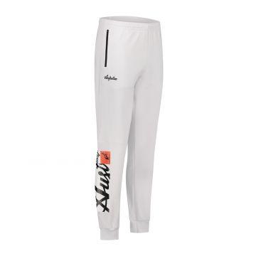 Australian Sportswear trainingsbroek met rechthoek logo print | wit