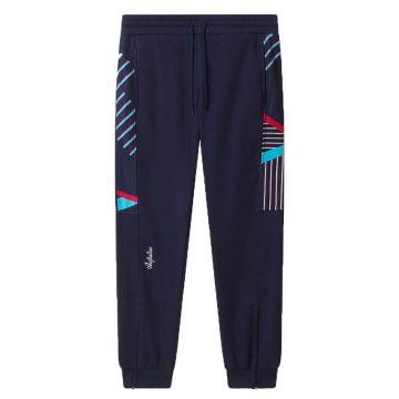 Australian sportswear joggingbroek tape lines | cosmo blauw