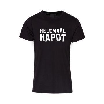 Hard-Wear T-shirt Helemaal Kapot | zwart