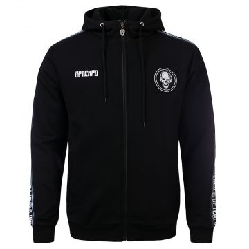 Uptempo zip hoodie met bies STATEMENT