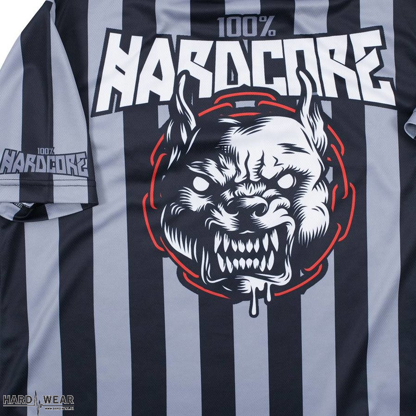 100% Hardcore football t-shirt | rage