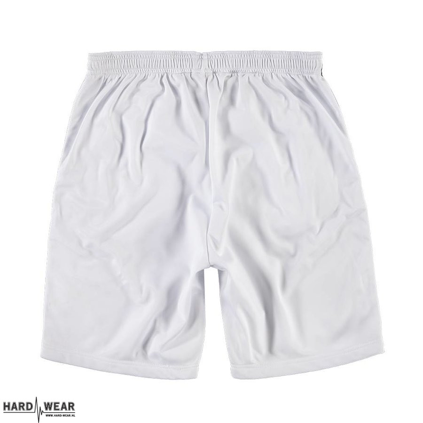 100% Hardcore korte broek | classic X wit