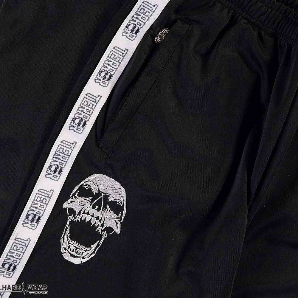 Terror trainingbroek   classic logo ☓ zwart