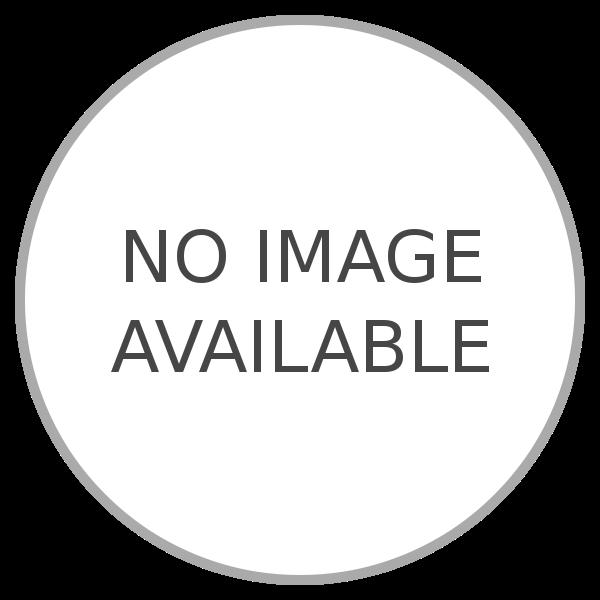 Australian jack met zwarte bies | zwart - neon oranje
