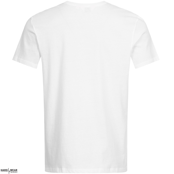 Lonsdale T-shirt Logo Print Op Zijkant | wit