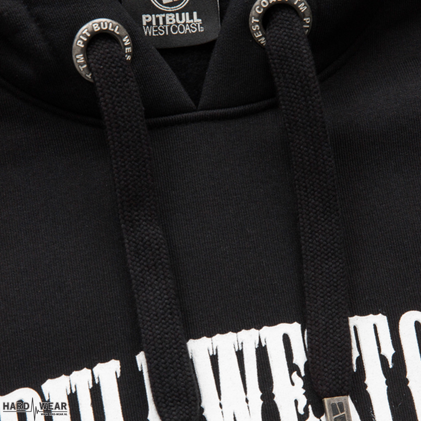 Pit Bull hooded sweater terror clown | zwart