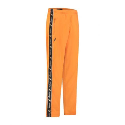 Australian broek met 2 ritsen en zwarte bies 2.0 | neon oranje