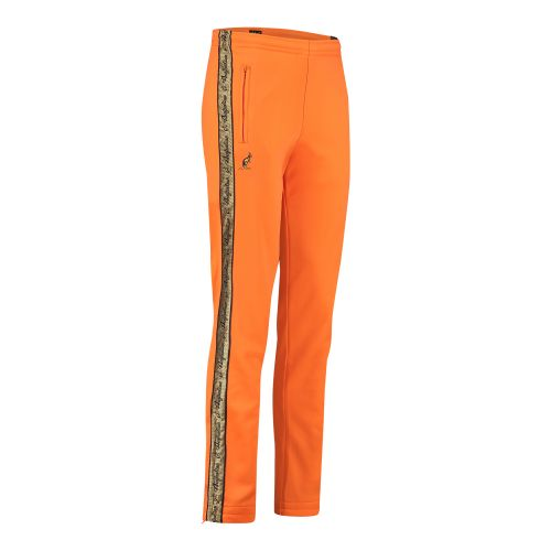 Australian broek met 2 ritsen en gouden bies 2.0 | neon oranje