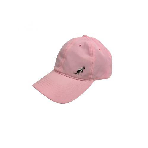 Australian pet met zilverkleurige logo en borduurwerk | roze