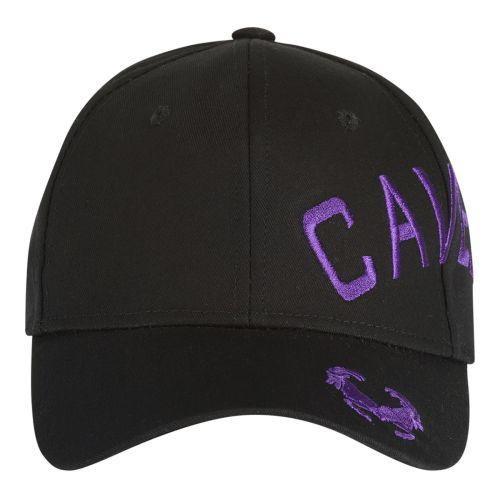 Cavello pet crossover borduring logo paars | zwart
