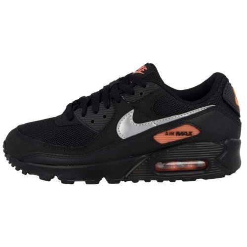 Nike Air Max 90   Black/Orange―Silver