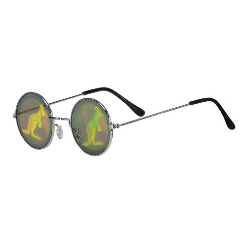 Hard-Wear gabber bril Australian hologram