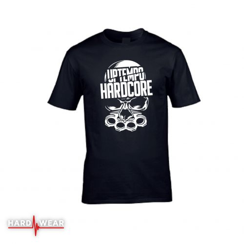 Hard-Wear T-shirt Uptempo Hardcore | zwart