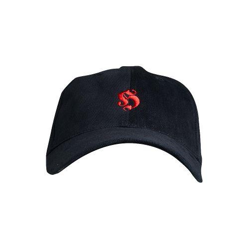 Hooligan pet basic geborduurd logo katoen | zwart