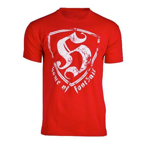 Hooligan T-shirt HOF vintage | rood