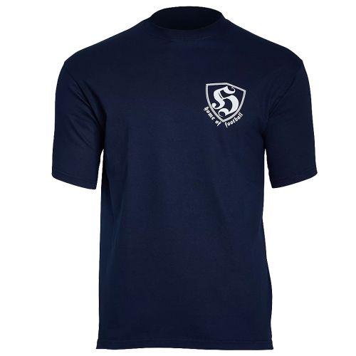 Hooligan T-shirt Home Of Football | navy