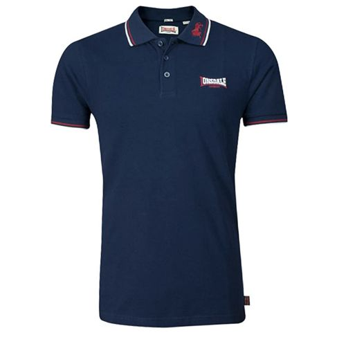 Lonsdale polo LION   navy / dark red