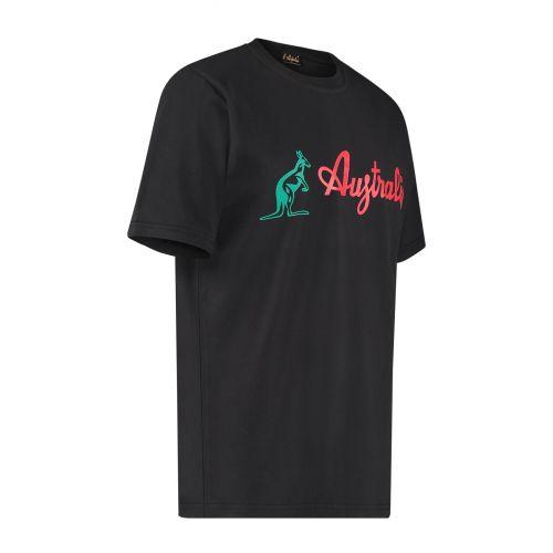Australian T-shirt met classic logo | zwart